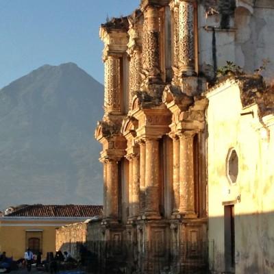 Ruinas en Antigua Guatemala